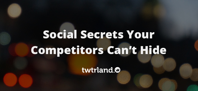 Social Media Analytics - Social Secrets Your Competitors Can't Hide