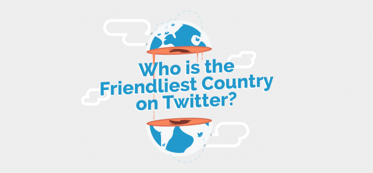 friendliest countries on twitter