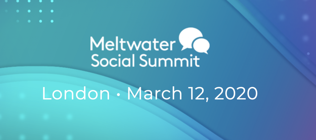 Meltwater Social Summit 2020